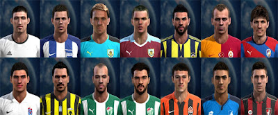 Mix Facepack Europe V3 PES 2013