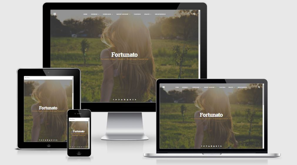 Fortunato Blogger Template