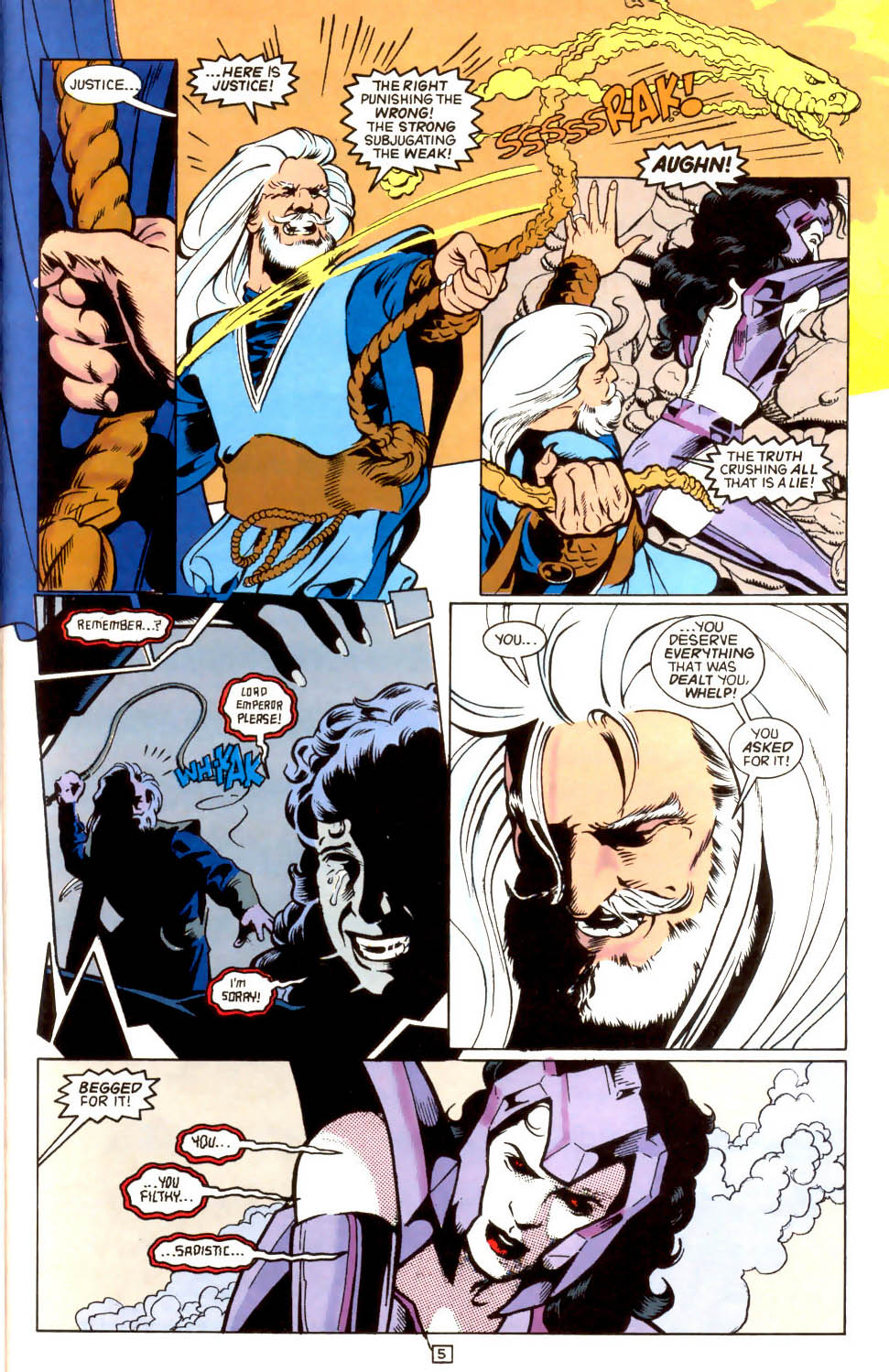Legion of Super-Heroes (1989) 44 Page 5