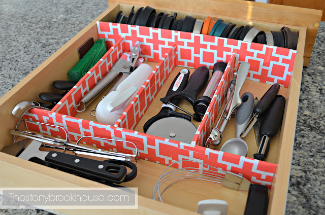 Kitchen Utensils Drawer Organizer