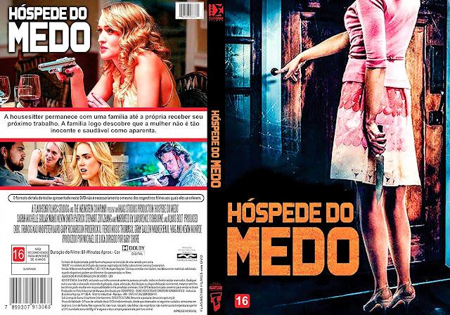 Capa DVD Hóspede Do Medo