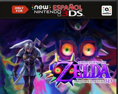 Download Rom The Legend of Zelda Majora's Mask 3D - 3DS