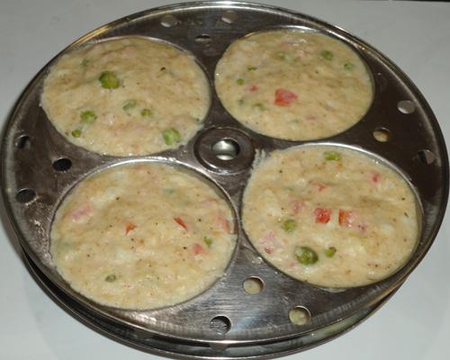 steamed oats vegetable idl image