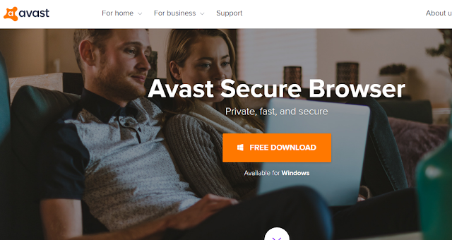 متصفح آمن من Avast مع مانع للأعلانات وميزة تحميل الفيديو من الانترنت