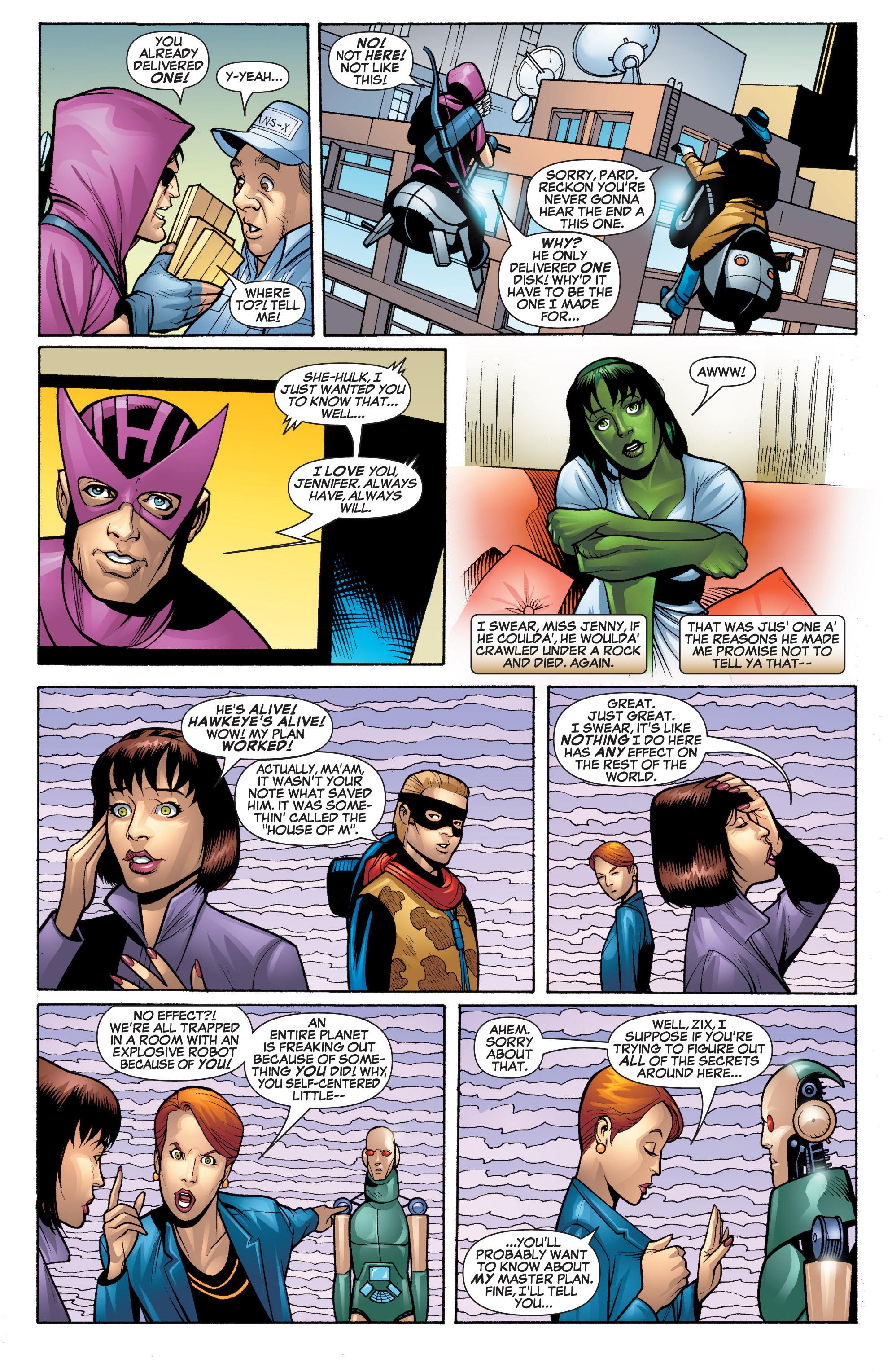 Read online She-Hulk (2005) comic -  Issue #20 - 15