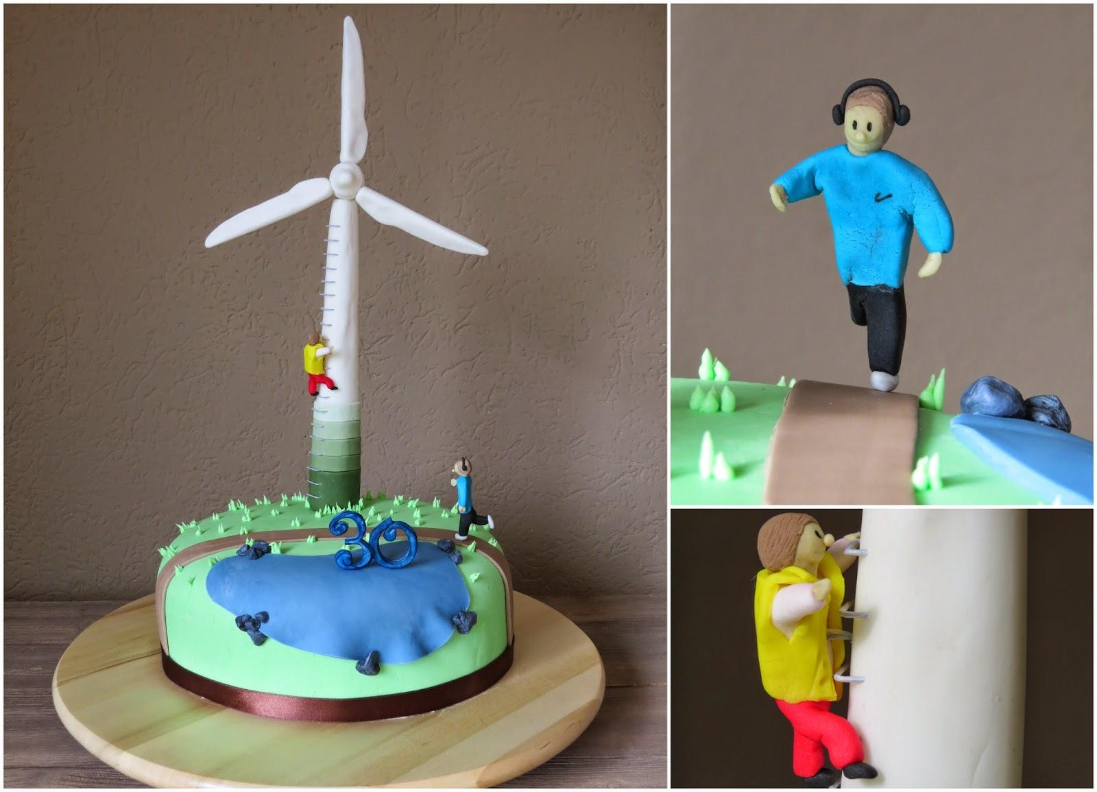 Wind Wheel Cake