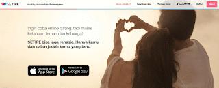 Setipe.com Situs Jodoh Terbaik di Indonesia