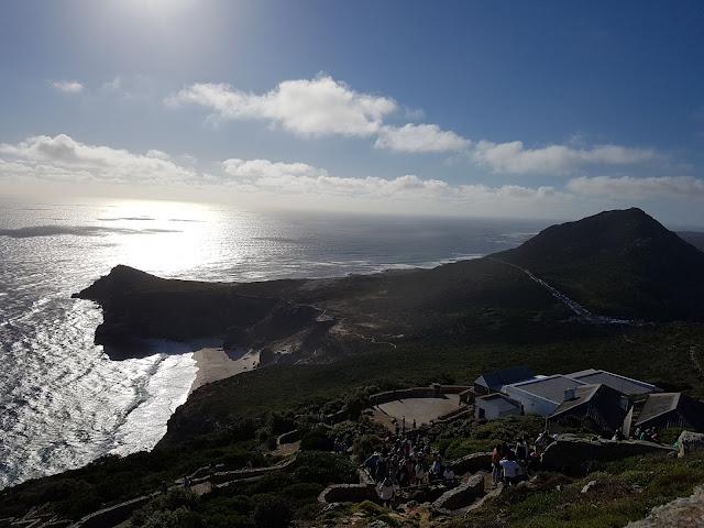 Cabo da Boa Esperança visto a partir do Cape Point - Cidade do Cabo - África do Sul - Grandes navegações