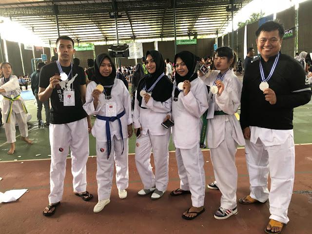 Kontingen Wajo Raih 1 Emas dan 6 Perak di Prasmul Taekwondo Olympics 2018