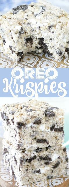 OREO KRISPIES RECIPES