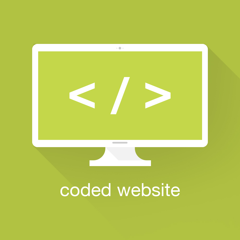 coded website