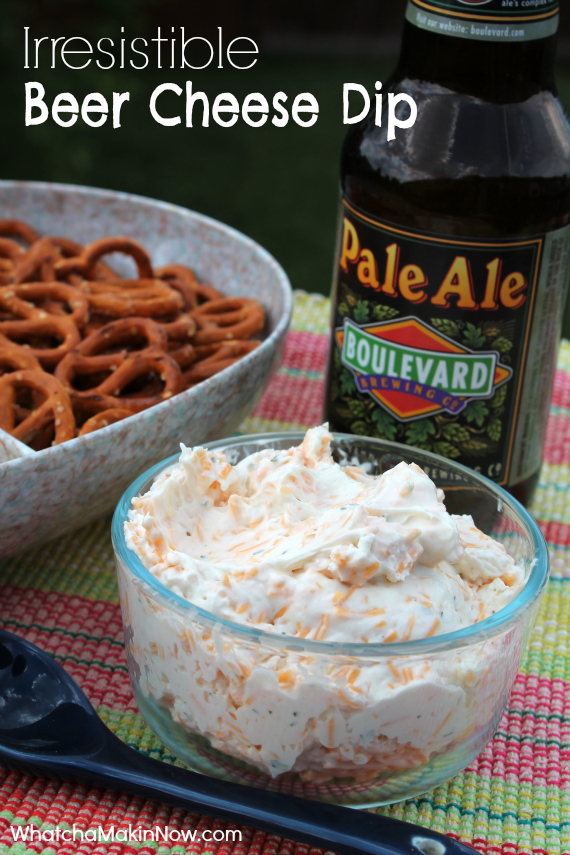 Irresistible Beer Cheese Dip - Only 4 ingredients - You won't be able ...