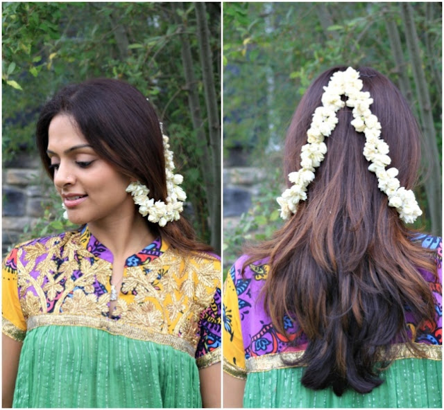 Some pretty flower jewelry for Diwali- Laxmi Lobo