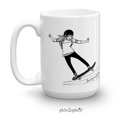 Skateboarders Coffee Cup