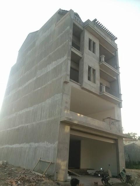 Nhà Beton: Sàn phẳng - Tường phẳng