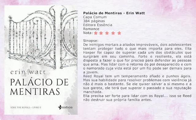 Palácio de Mentiras - The Royals #03 - Erin Watt