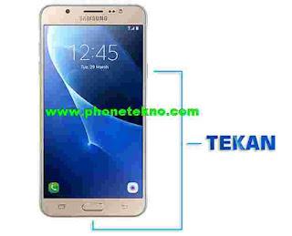 Cara Screenshot Layar Samsung Galaxy J5