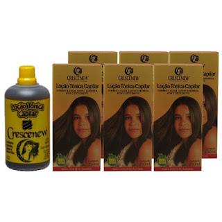 Kit 6 tônico para queda de cabelo - produtos para crescimento de cabelo