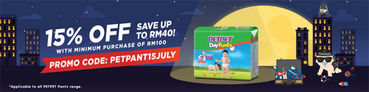 Kod diskaun Big Baby Fair pampers PetPet