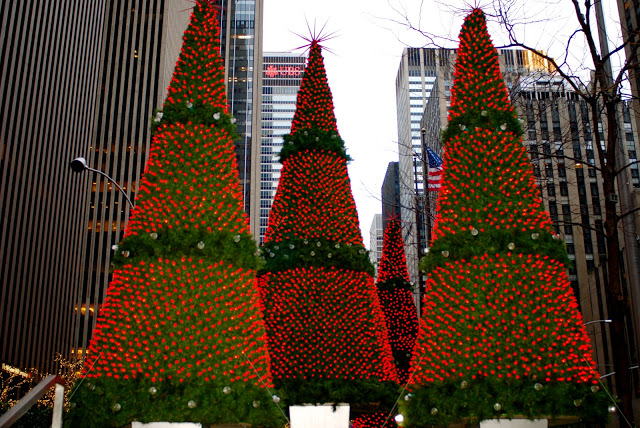 Nyc Nyc Sixth Avenue Christmas Decorations