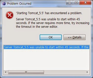 Server Tomcat v6 0 Server at localhost was unable to start