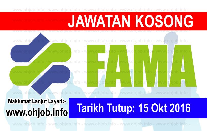 Jawatan Kerja Kosong Lembaga Pemasaran Pertanian Persekutuan (FAMA) logo www.ohjob.info oktober 2016
