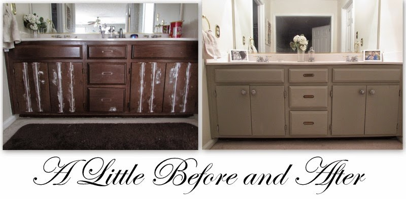 LoveOlympiaJune: Master Bathroom Vanity Update