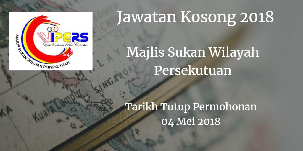 Jawatan Kosong WIPERS 04 Mei 2018