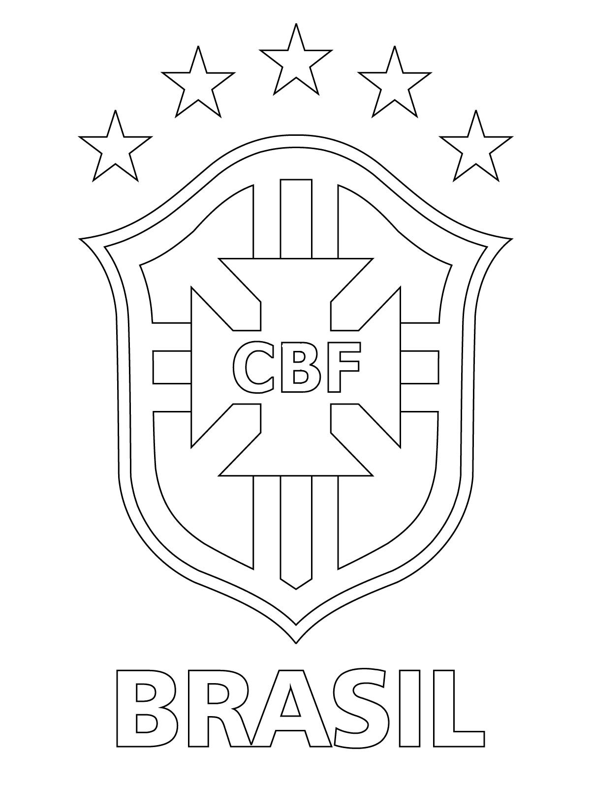 Blog De Geografia Escudo Da Selecao Brasileira De Futebol Para