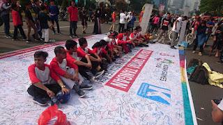 Agar Indonesia Jadi Tuan Rumah Terbaik Asian Games, Komunikonten Komitmen Adakan Doa dan Tandatangan
