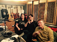 Cast of SYFY's The Churn Threshold Recording Studios NYC