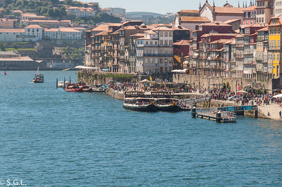 Que ver en Oporto en un dia. Zona la de la ribera