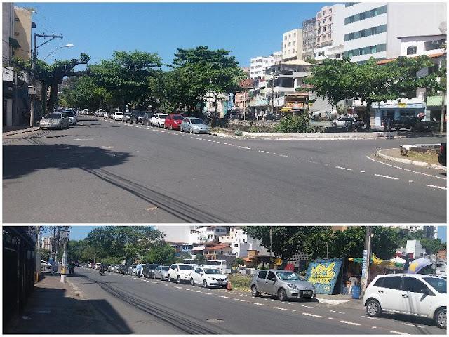 AMARV continua mediando com a prefeitura estacionamento em via pública para alunos da FACS e comerciantes na rua do canal