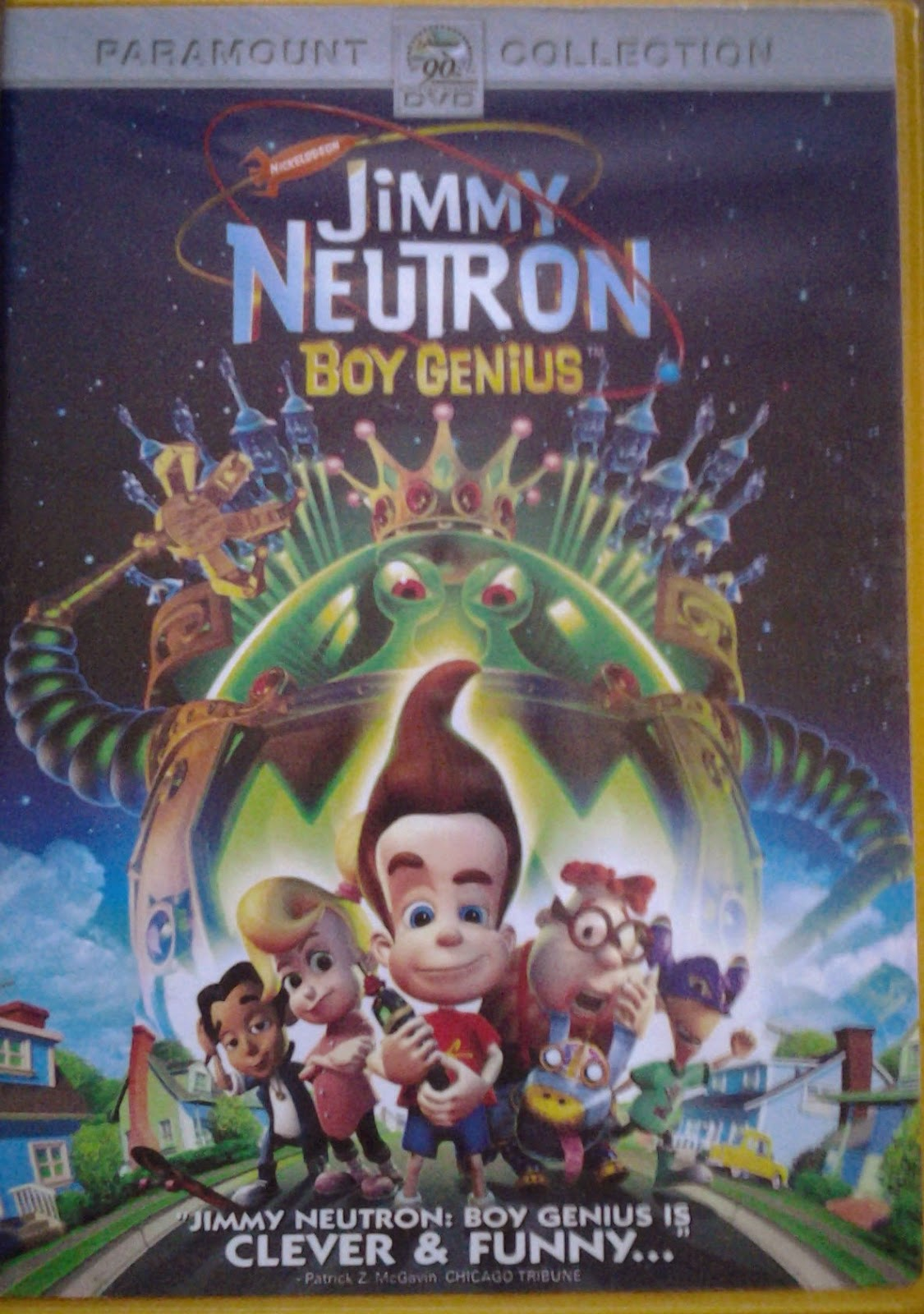 DVD Cover - Jimmy Neutron Boy Genius
