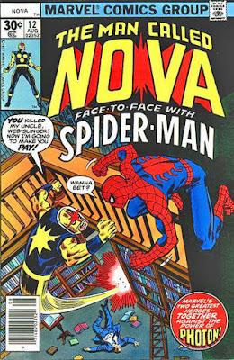 Nova #12, Spider-Man