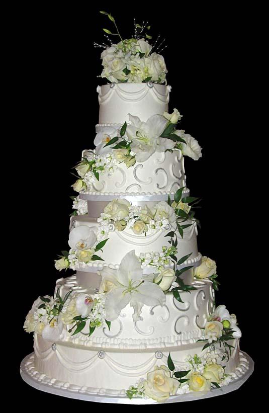 Fountain Cake Decoration