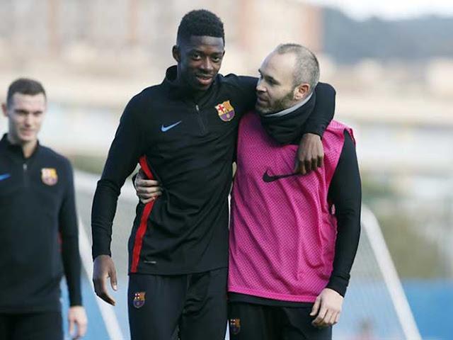 Tin HOT bóng đá sáng 16/1: Dembele & Iniesta cùng chấn thương