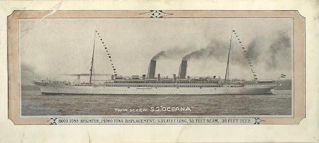 ss Oceana HAPAG, ex Scot Union Line