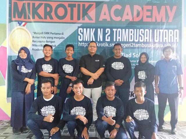 Peresmian dan Workshop Mikrotik Academy SMK Negeri 2 Tambusai Utara Tahun 20175