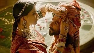 Shahid Kapoor and Deepika Padukone