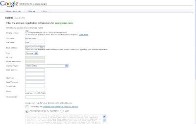 Domain sendiri di hosting Blogger