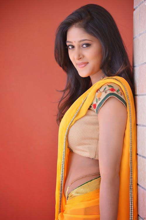 Sushma Raj Half Saree Hot Stills - South Indian Actress-1361
