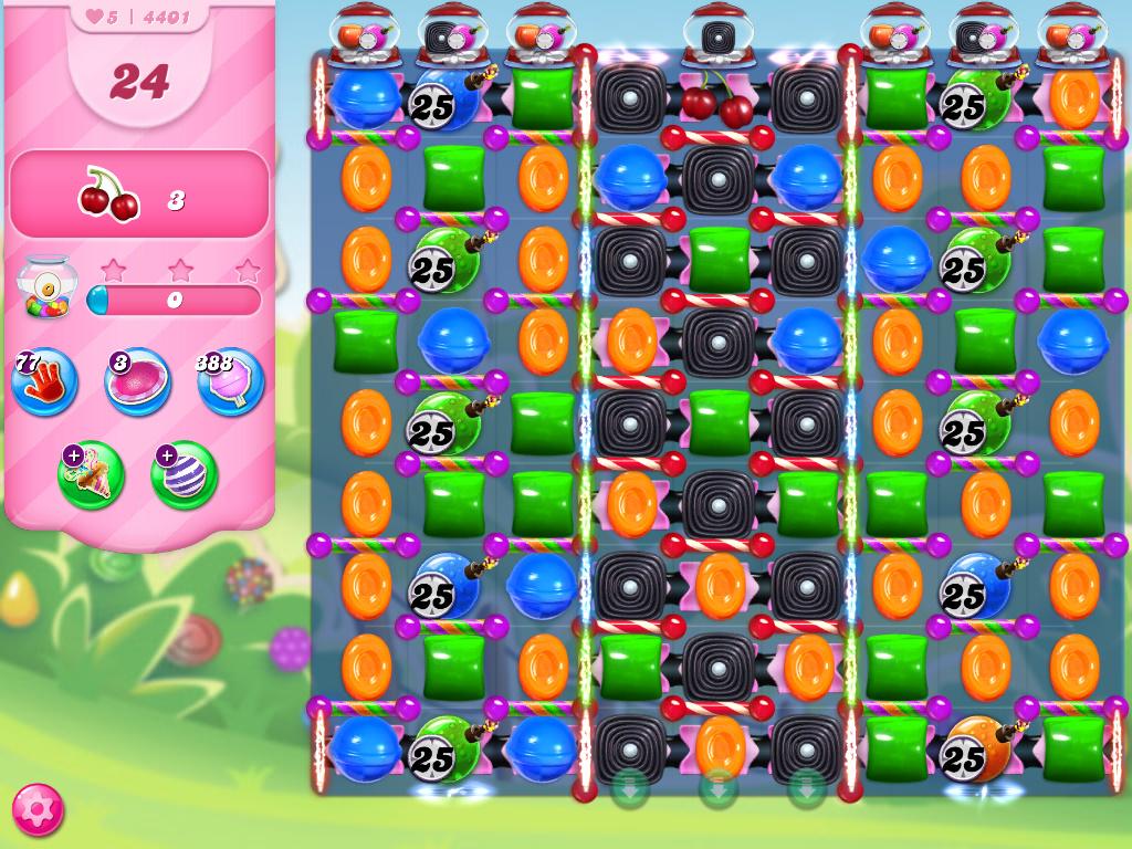 Candy Crush Saga level 4401
