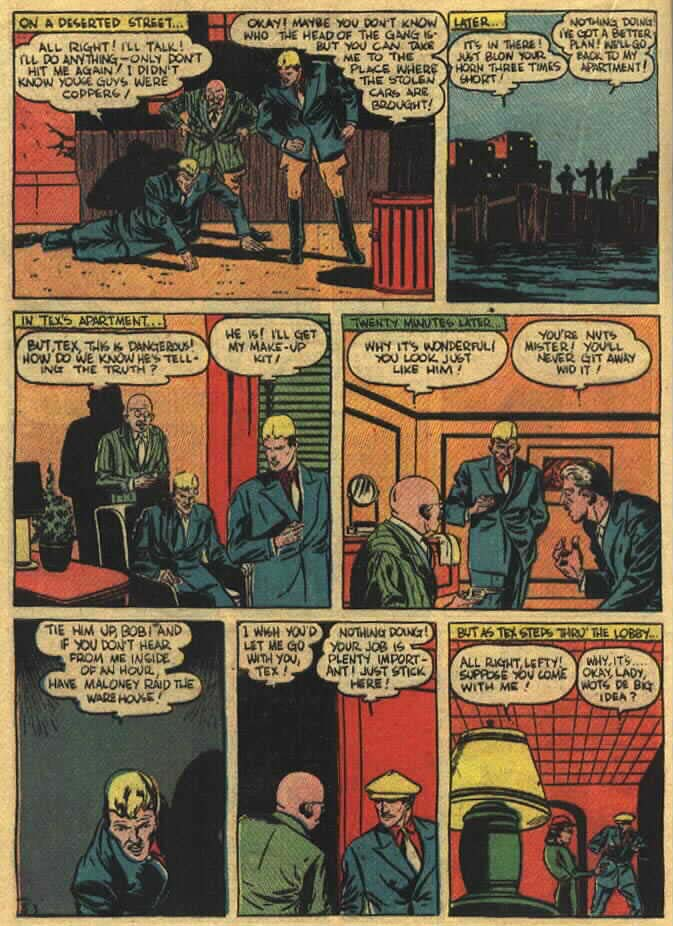 Read online Action Comics (1938) comic -  Issue #26 - 39