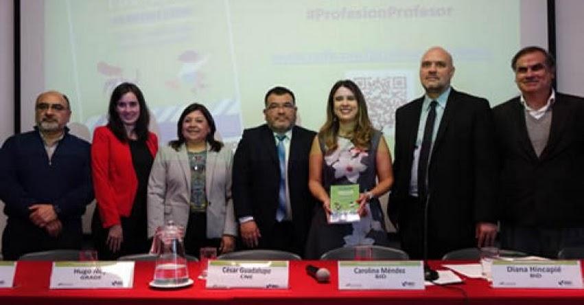 BID destaca la carrera meritocrática docente promovida por el Minedu - MINEDU - www.minedu.gob.pe