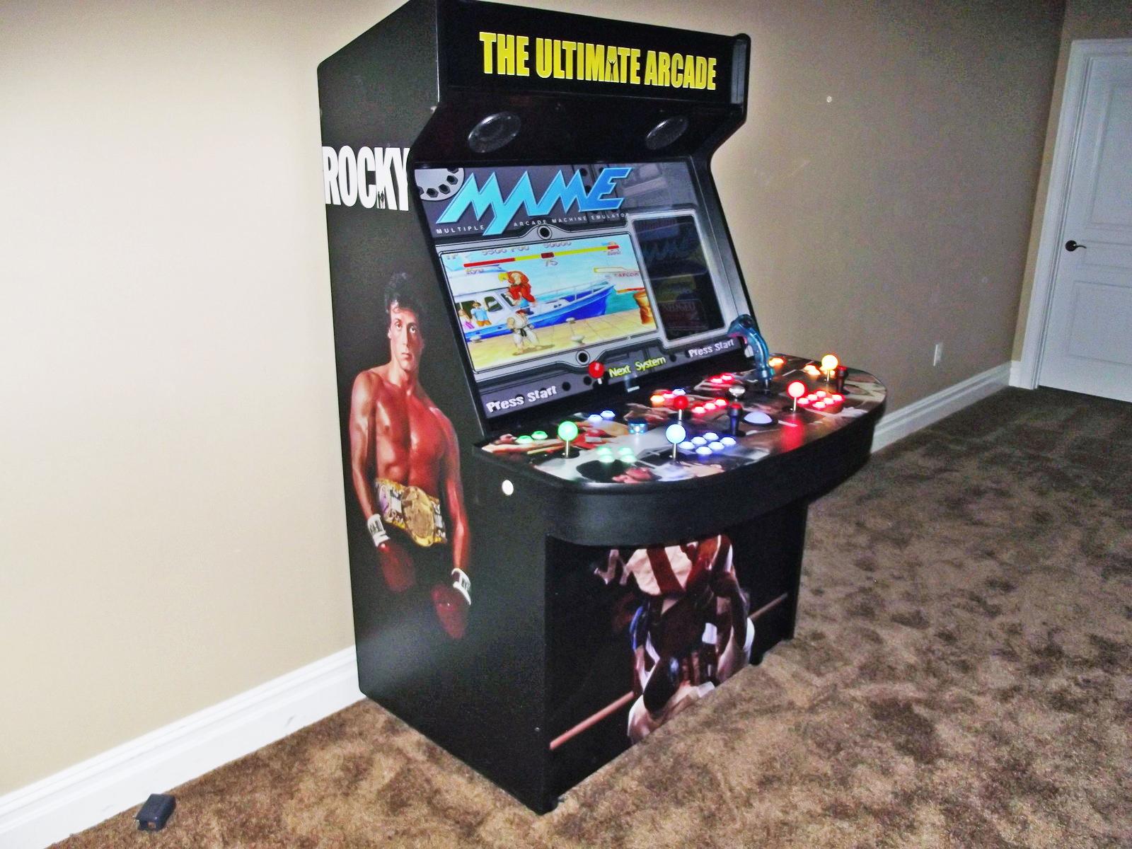 RetroGeeker: Ultimate 46 Inch Arcade Machine
