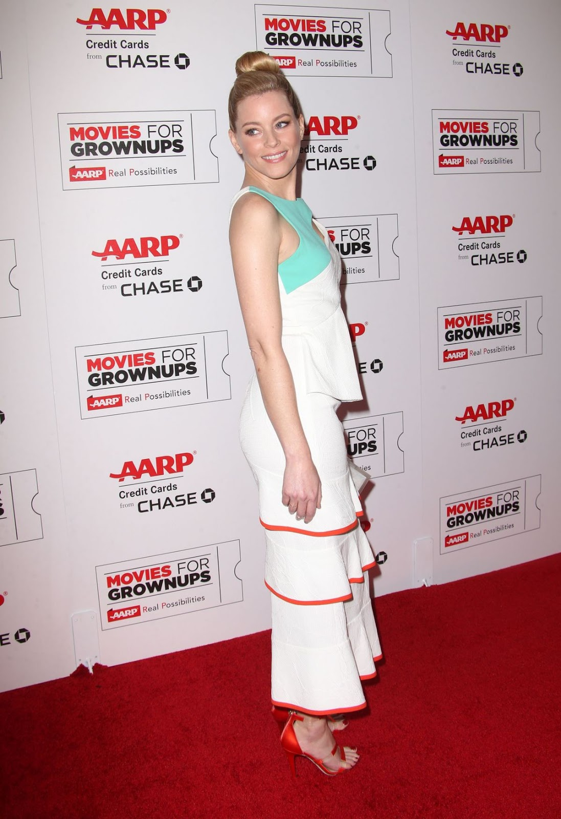 Power Rangers actress Elizabeth Banks at 15th Annual Movies for Grownups Awards at Beverly Hills