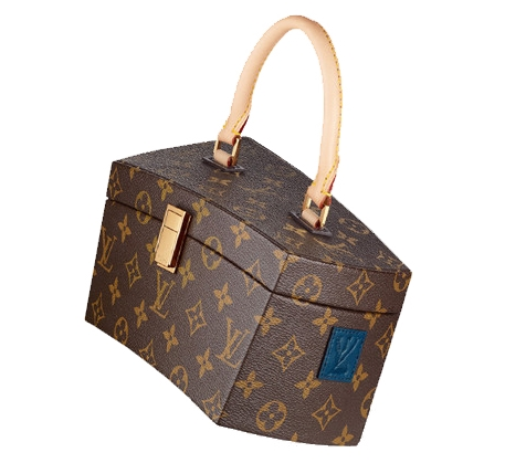 Louis Vuitton's Icon and Iconoclasts Creations twisted box