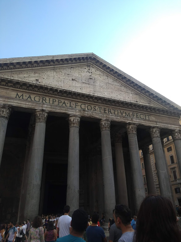 The Pantheon; Pantheon Inscription;
