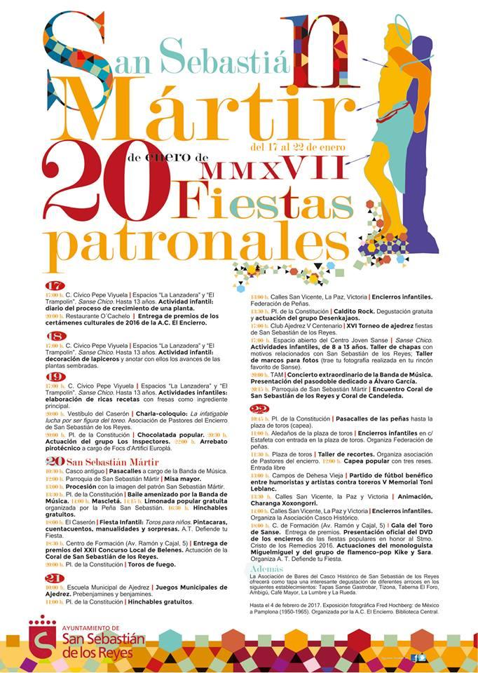 Cronicas De Sanse Programa De Las Fiestas Patronales De San